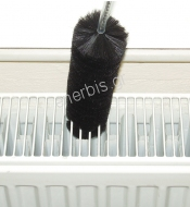 Radiators' cleaning brush